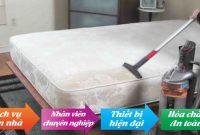 Dịch vụ vệ sinh đệm cao su tại Hà Nội